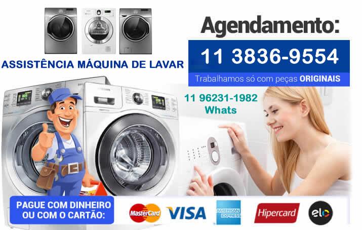 máquina de lavar assistência